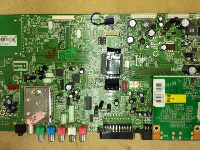 Vestel 17MB22-2 2039907 20446912 LCD Main Board