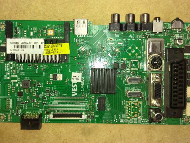 Celcus DLED40125FHD 23205278 17MB55 LED Main Board