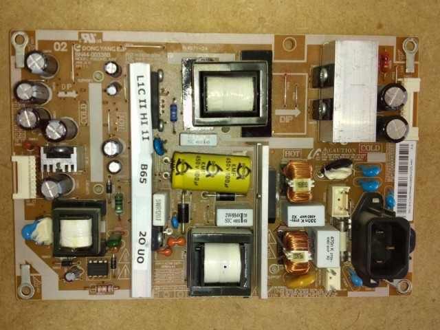 Samsung LE26C450E1XXU BN44-00338B LCD Power Supply