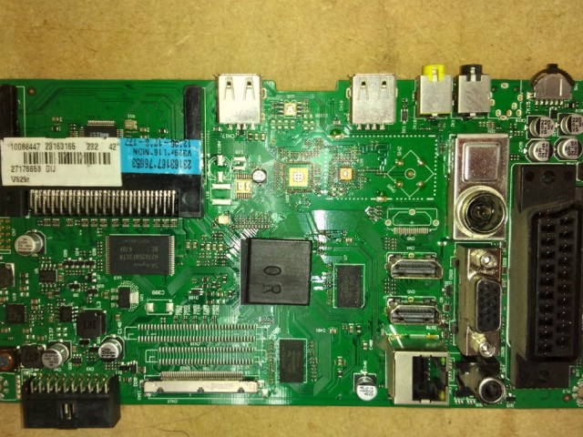 Hitachi 42HXT12U 23163165 17MB95 LED Main Board